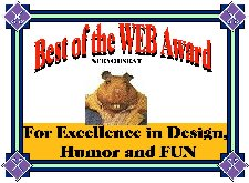 We won Nervous Rat's design award!